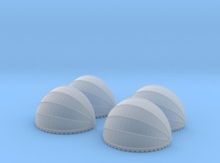 4x Korbmarkise rund 20 mm (N1:160) 3d printed