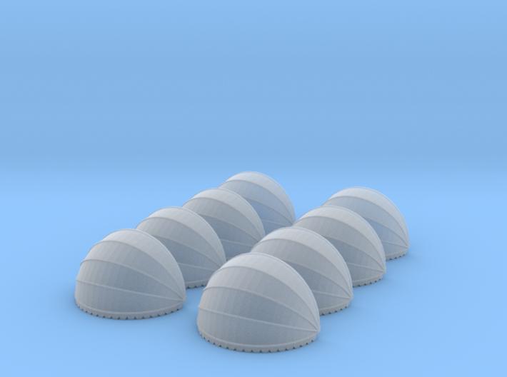 8x Korbmarkise rund 20 mm (N 1:160) 3d printed