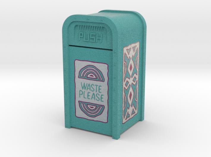 Adventureland Trash Can 3d printed