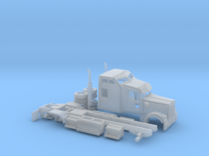 1/160 Kenworth W900 3d printed
