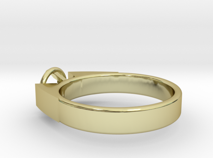 Design Ring For Diamond Ø17.83 Mm Model Alessa 3d printed