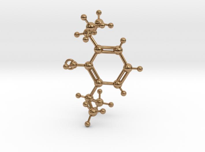 Propofol Molecule 3d printed
