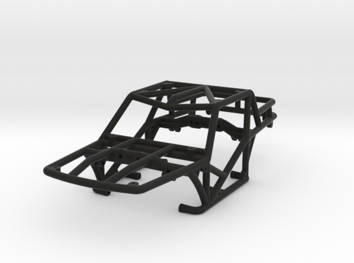 Specter-T v1 1/24th scale rock crawler chassis 3d printed
