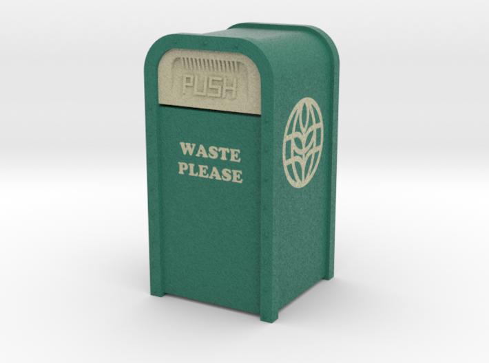 Vintage The Land Pavilion Trash Can 3d printed