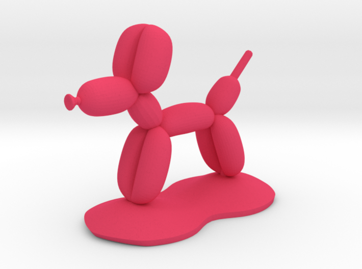 Balloon Dog Ring holder 3d printed