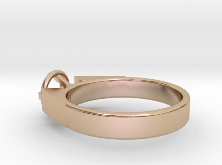 Design Ring For Diamond Ø17 Mm/0.669 inch Model A 3d printed