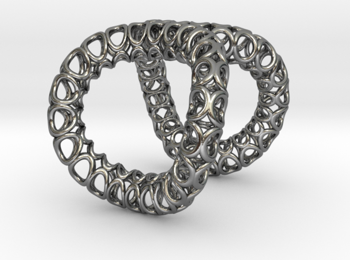 Infinity Ring (Size 8) 3d printed