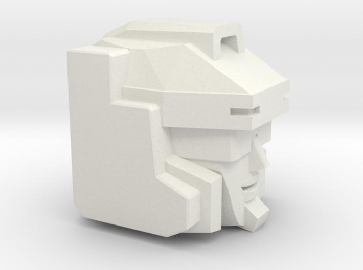 Offroad Patrol Leader's Head 3d printed
