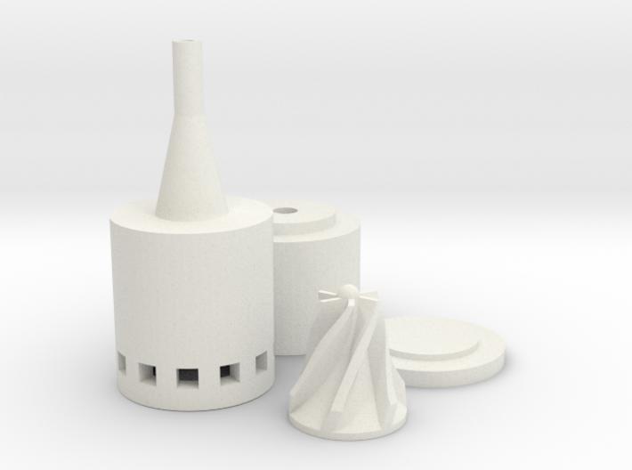 Micro Solar Water Pump 20Watt 3d printed