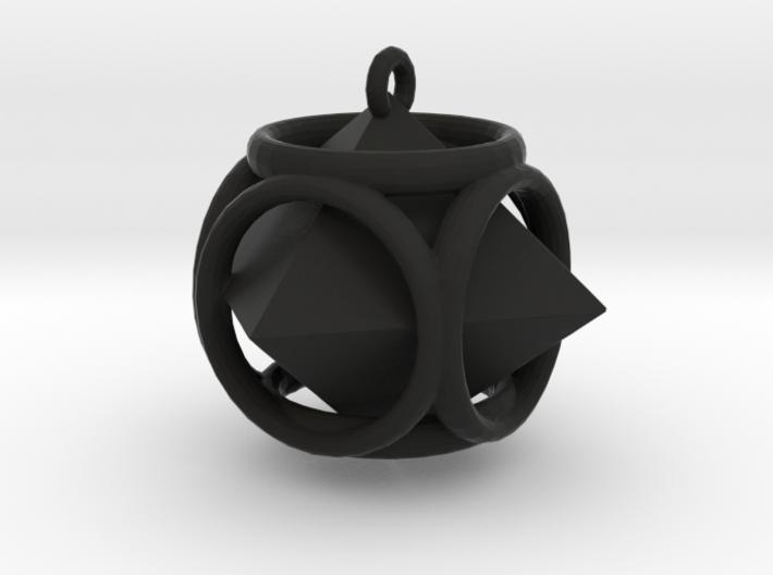 Diamond-Pendant 3d printed
