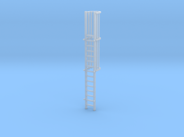 'N Scale' - 15.33 FT Ladder For Loadout Bin 3d printed