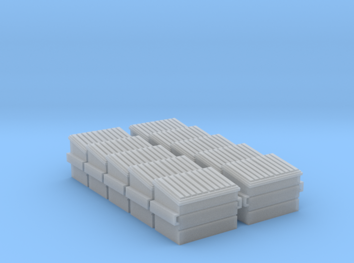 Dumpster (HO - 1:87) 10X 3d printed
