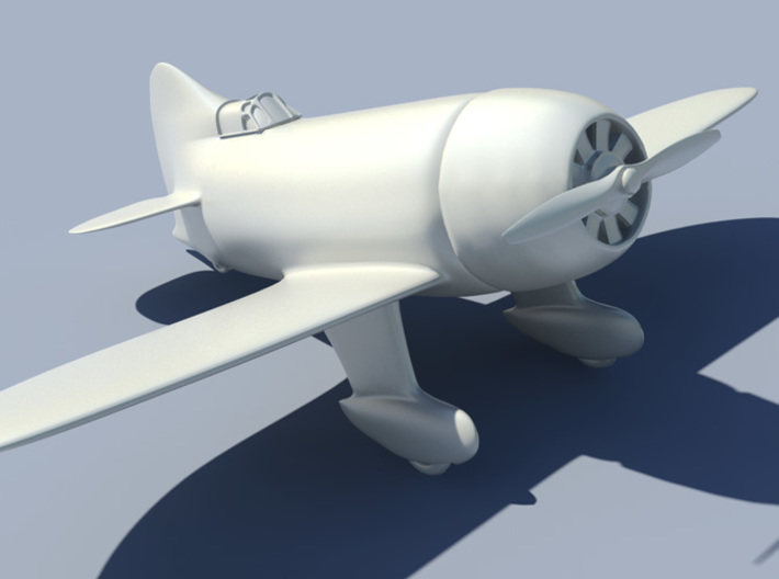 Gee Bee Model R 5inch 3d printed