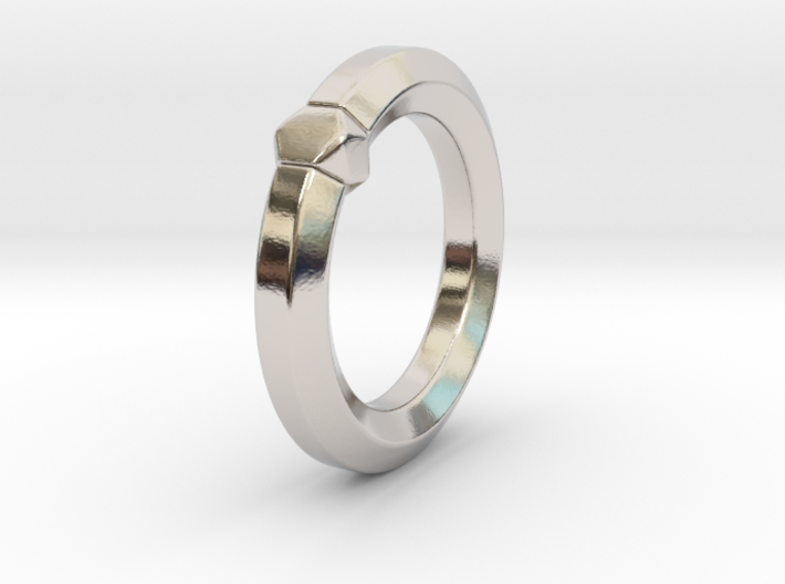 Hea - Ring - US 6.75 - 17.12 mm 3d printed