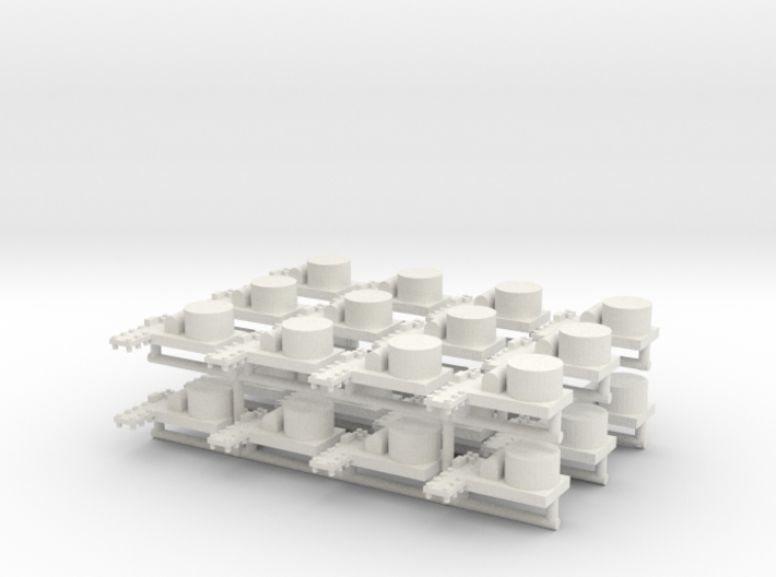 Small Naval Base X24 (WSF) 3d printed
