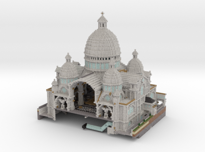 Cathedral 2 of 3 3d printed