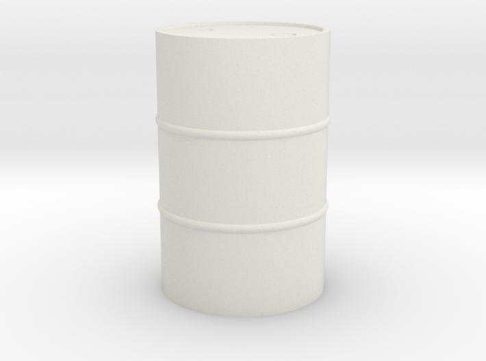 55 Gal Drum - HO 87:1 Scale 3d printed
