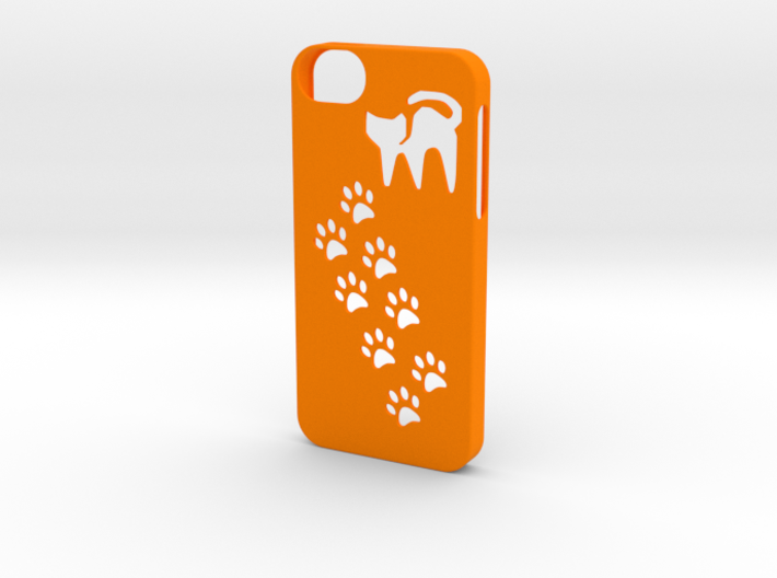 Iphone 5/5s cat paws case 3d printed