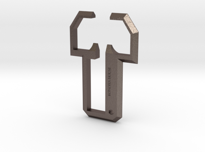 Konoha Opener 3d printed