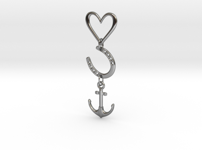 Love Luck Hope 3d printed