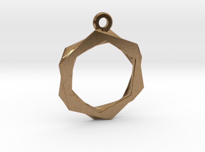 High Class Hexagon Pendant 3d printed