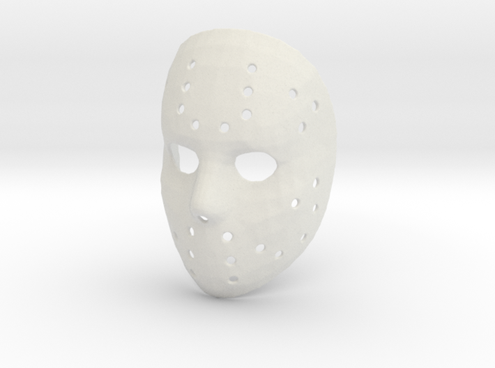 Jason Voorhees Mask 3d printed