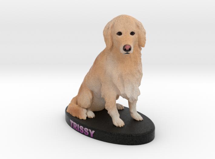 Custom Dog Figurine - Trissy 3d printed