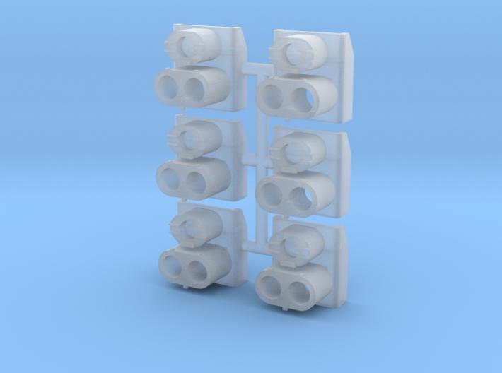 SP Rear Cluster (N - 1:160) 6X 3d printed