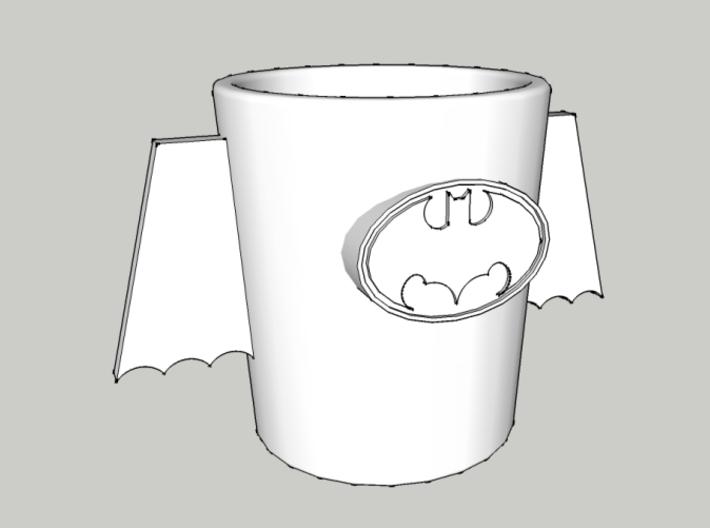 Batman Cup 3d printed Batman Cup