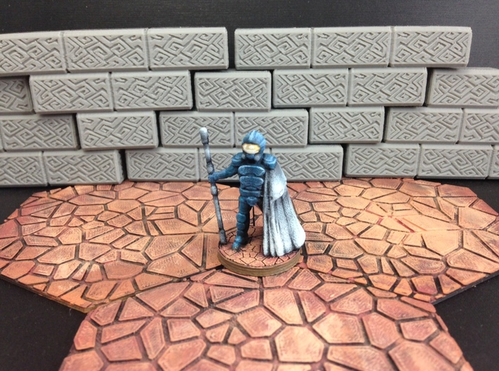 Dominion Arcanist (28mm/Heroic scale) 3d printed