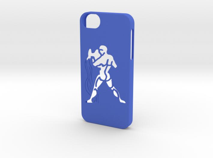 Iphone 5/5s aquarius case 3d printed