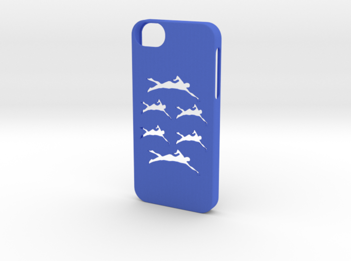 Iphone 5/5s swimming case 3d printed