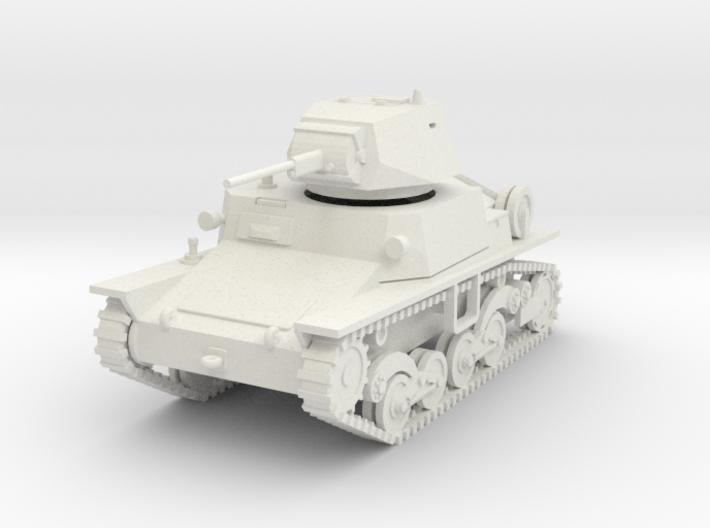 PV81 Italian L6/40 Light Tank (1/48) 3d printed