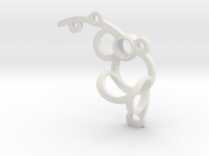 Bone House: Erblos - Small 3d printed