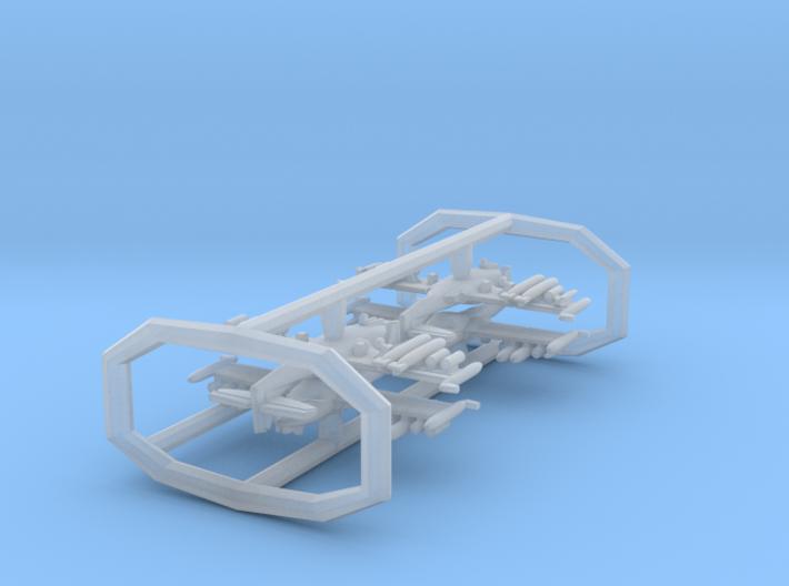 1/700 A-37B w/gear x4 (FUD) 3d printed