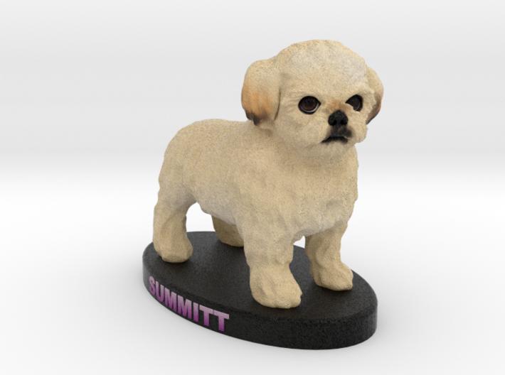 Custom Dog Figurine - Summitt 3d printed