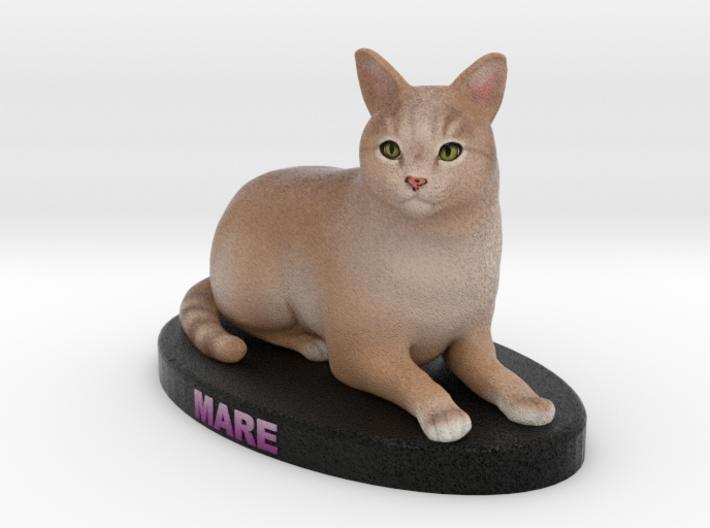 Custom Cat Figurine - Mare 3d printed