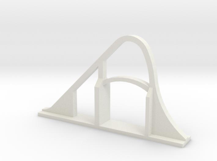 Goliath (SFGAM) Roller Coaster 3d printed