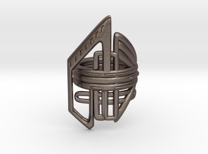 Balem's Ring2 - US-Size 12 (21.49 mm) 3d printed