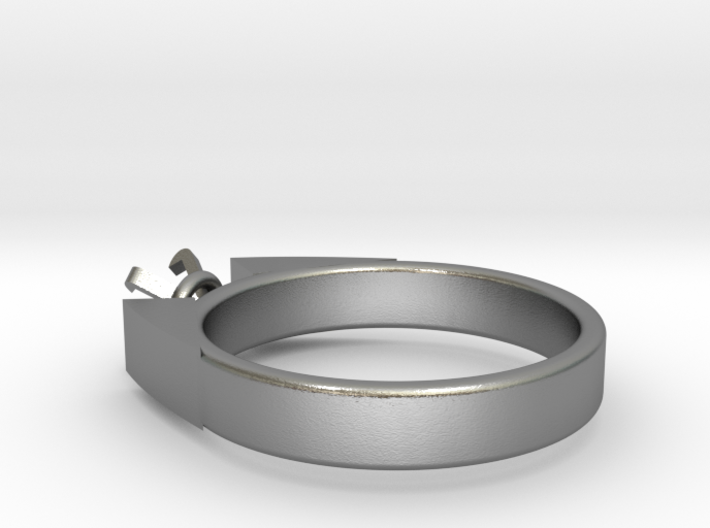 Alessa Design Ring For Diamond Ø17.83mm (Ø6mm New  3d printed