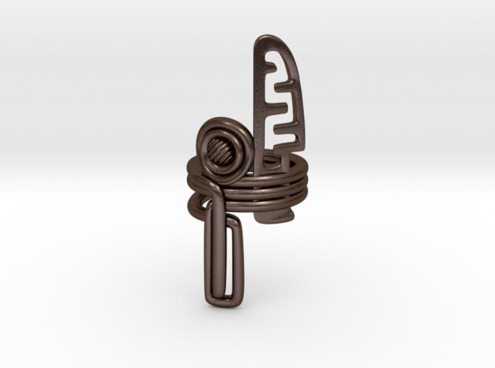 Balem's Ring3 - US-Size 9 1/2 (19.41 mm) 3d printed