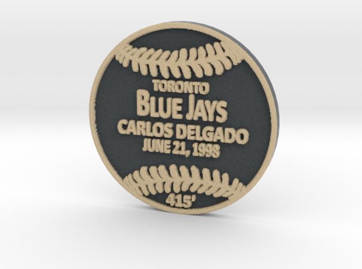 Carlos Delgado 3d printed