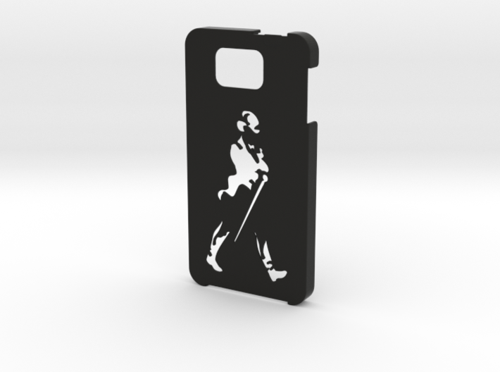 Samsung Galaxy Alpha Johnnie Walker case 3d printed
