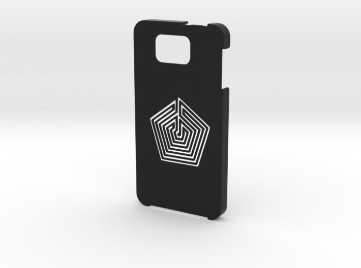 Samsung Galaxy Alpha Labyrinth case 3d printed