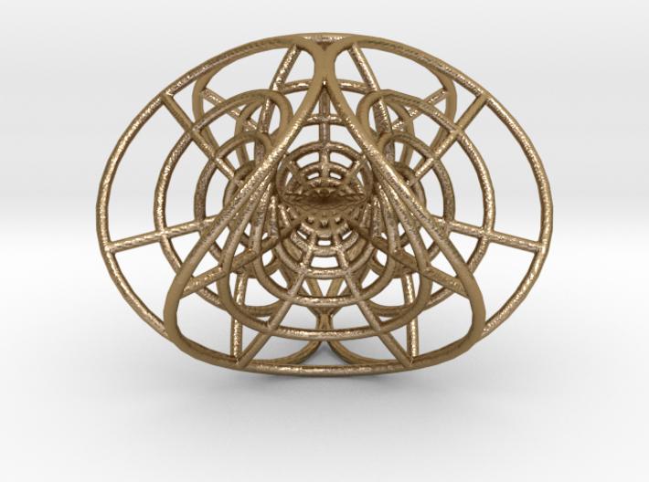 "Enneper's Mesh, 1/8"" diameter wires 3d printed"