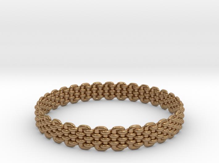 Wicker Pattern Bracelet Size 8 or USA Medium Size 3d printed