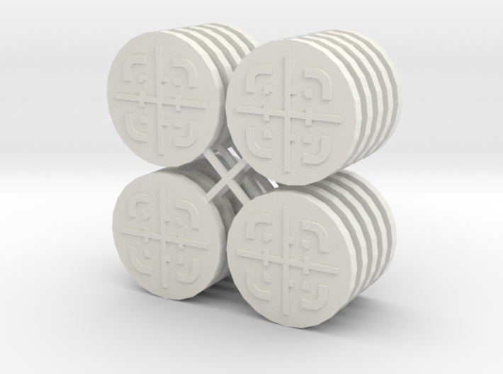 Star Wars Armada Objective Tokens 3d printed