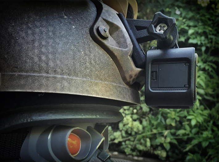 NVG Helmet Mount for GoPro HERO 4/5 Session 3d printed