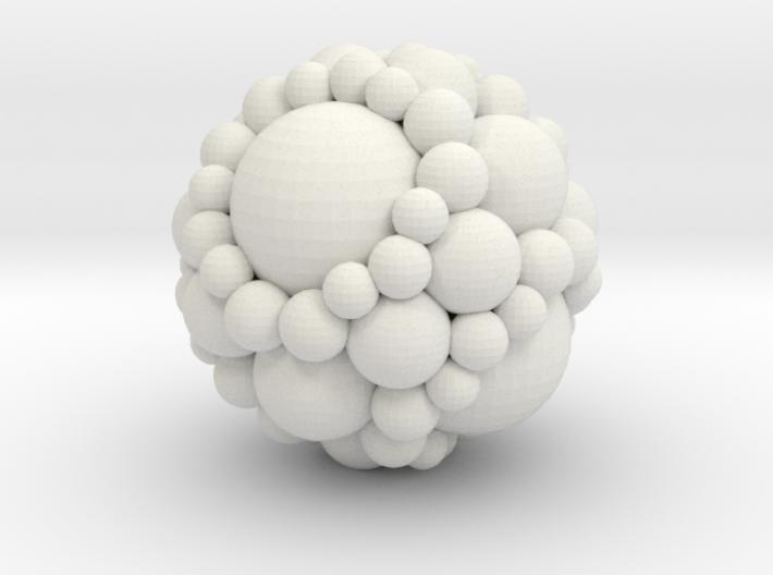 Soddy spheres 3d printed