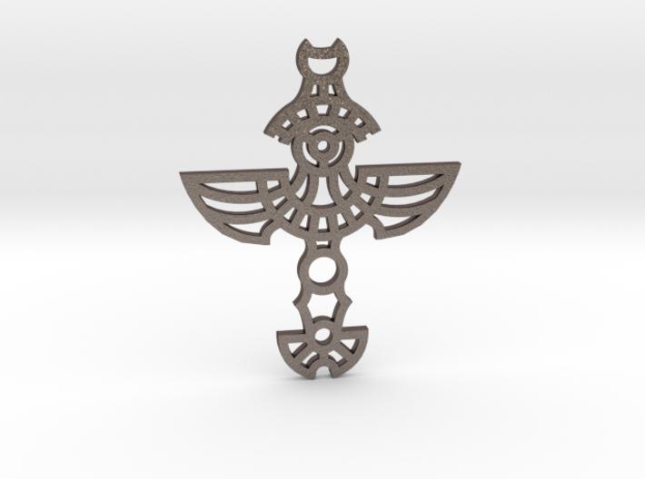Winged Cross / Cruz Alada 3d printed